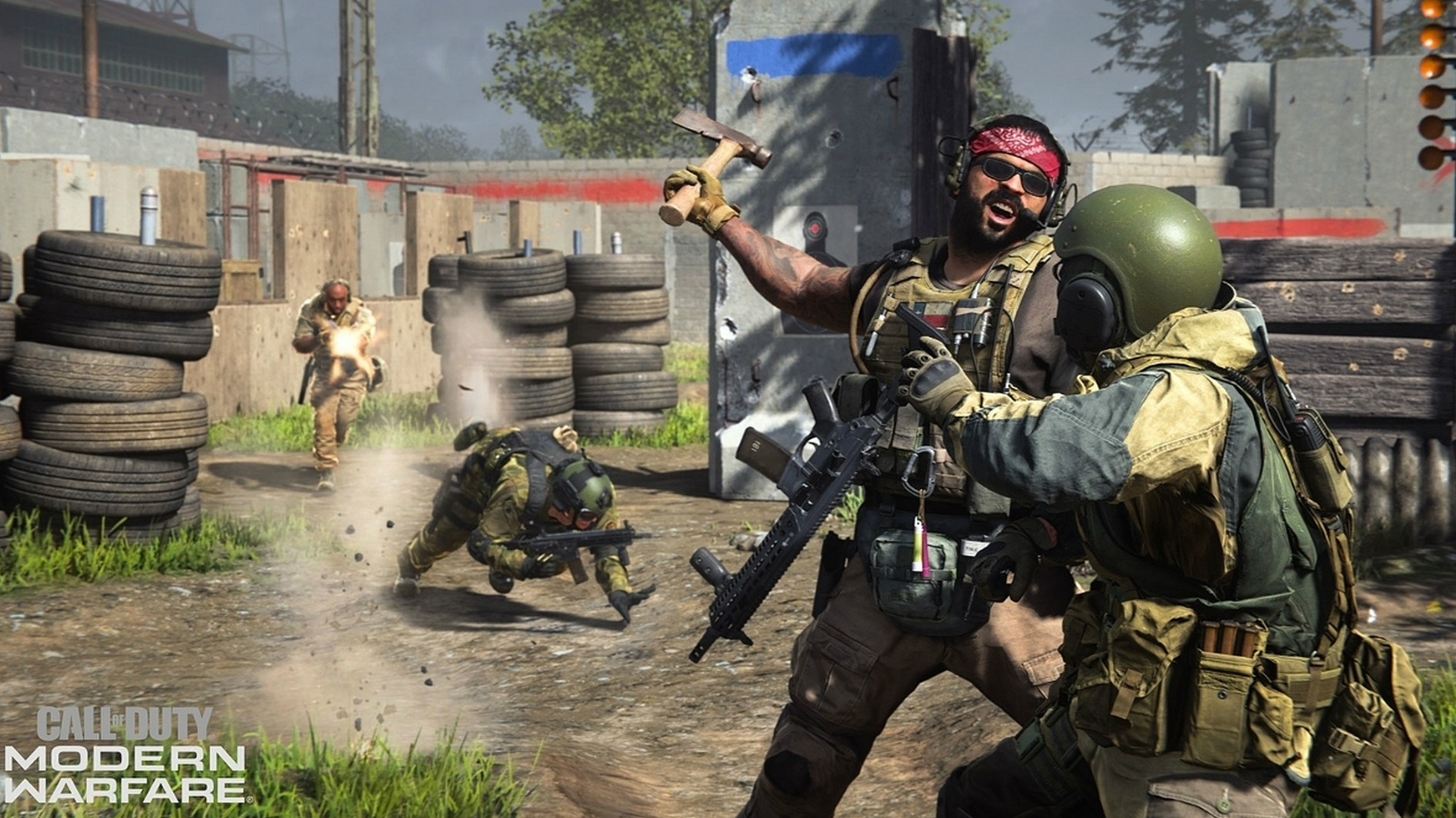 Call of Duty characters fighting within Modern Warfare