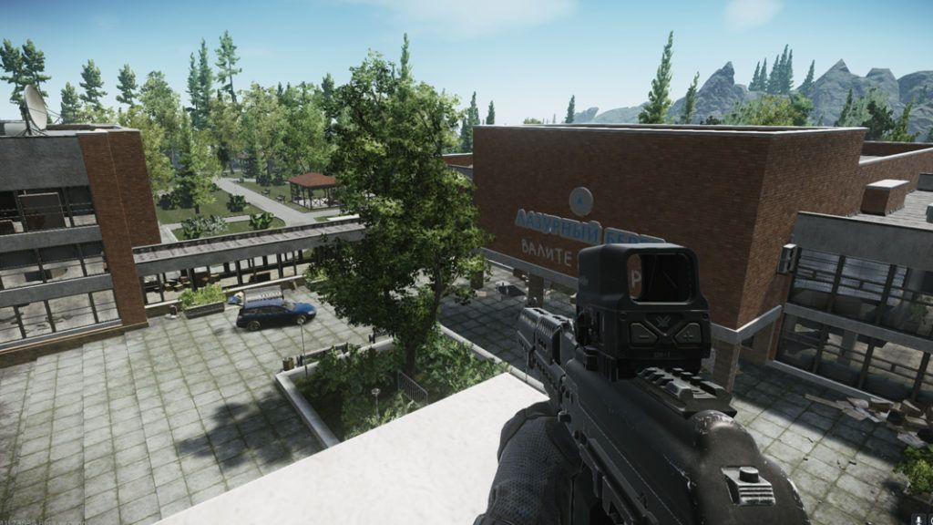 Escape from tarkov tactical shooter