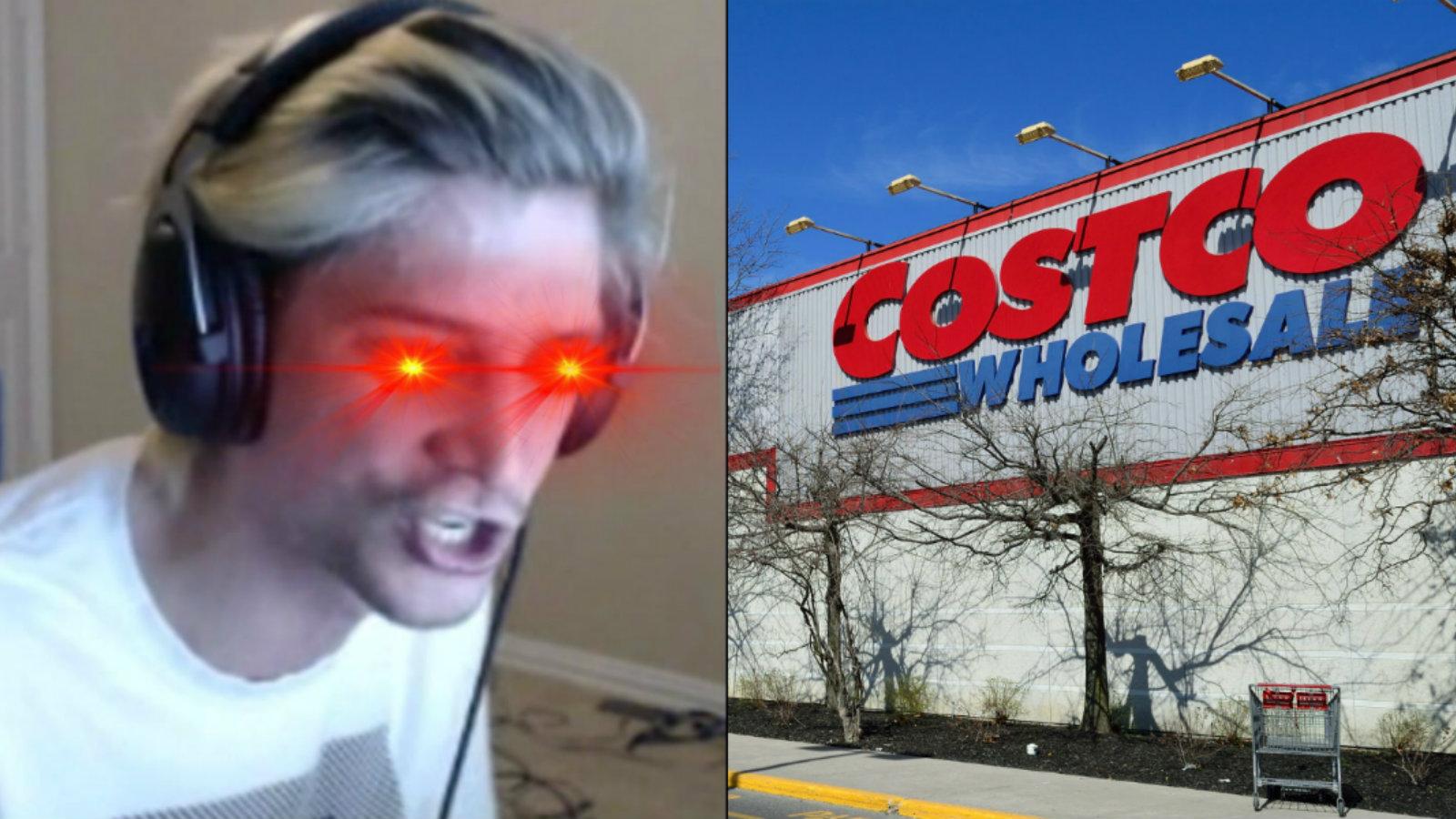 xQc / Costco