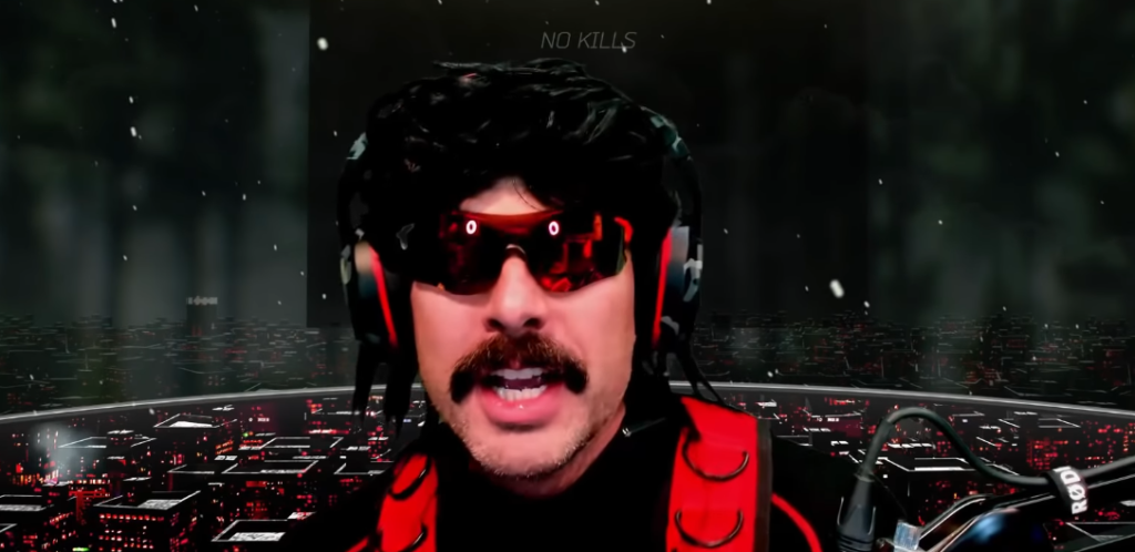 YouTube/Dr Disrespect