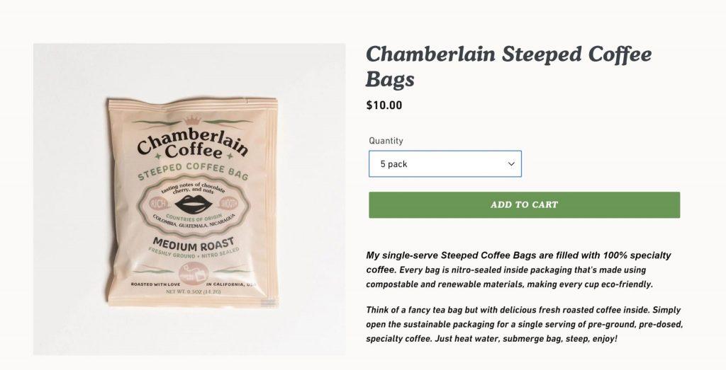 chamberlaincoffee.com