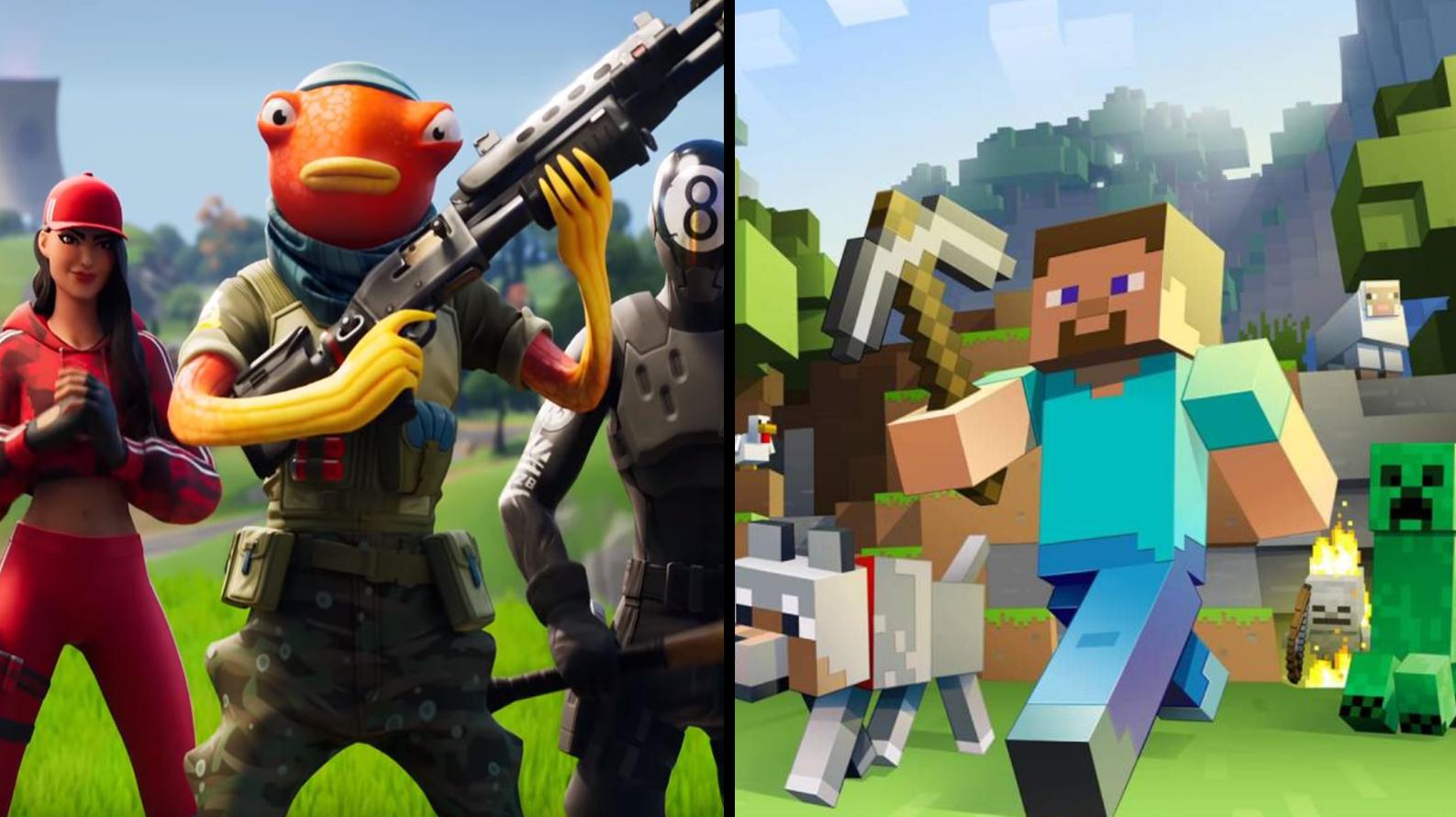 Epic Games - Fortnite / Mojang - Minecraft