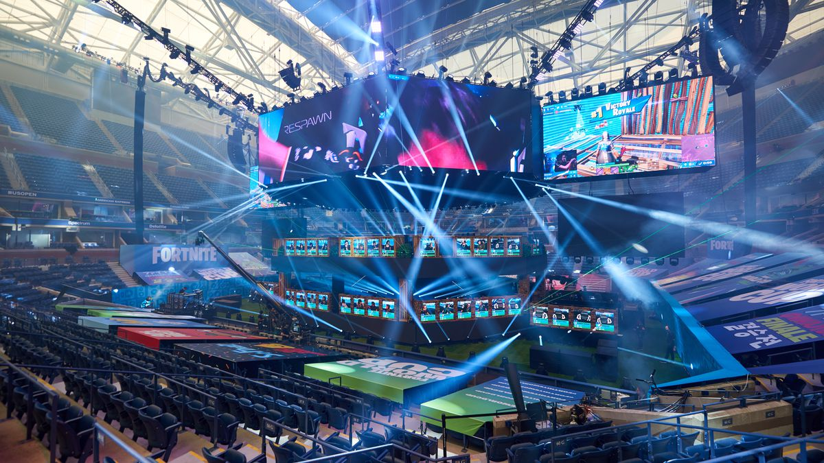 Fortnite World Cup arena