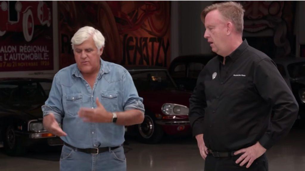 Jay Leno's Garage, YouTube