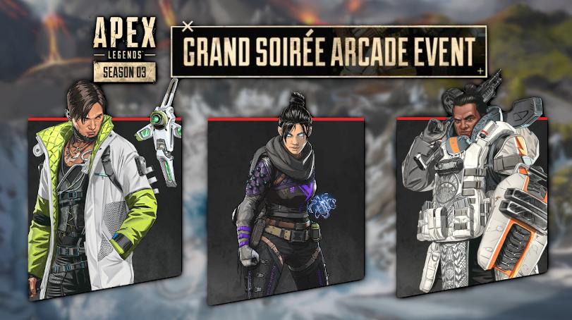 Apex Legends Grand Soiree Arcade Event