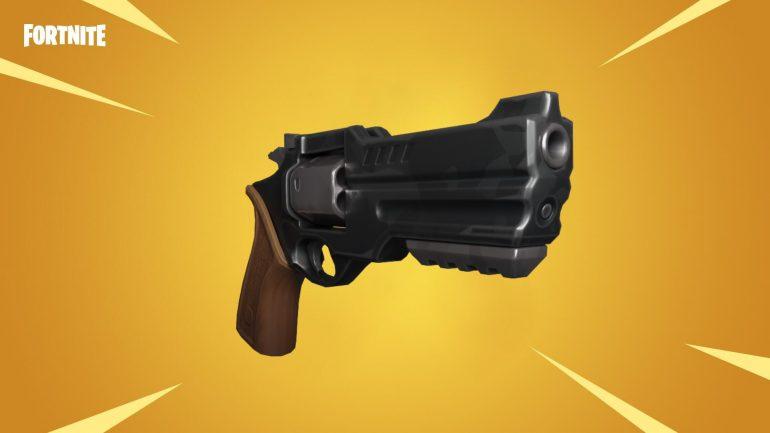 Fortnite legendary gold pistol