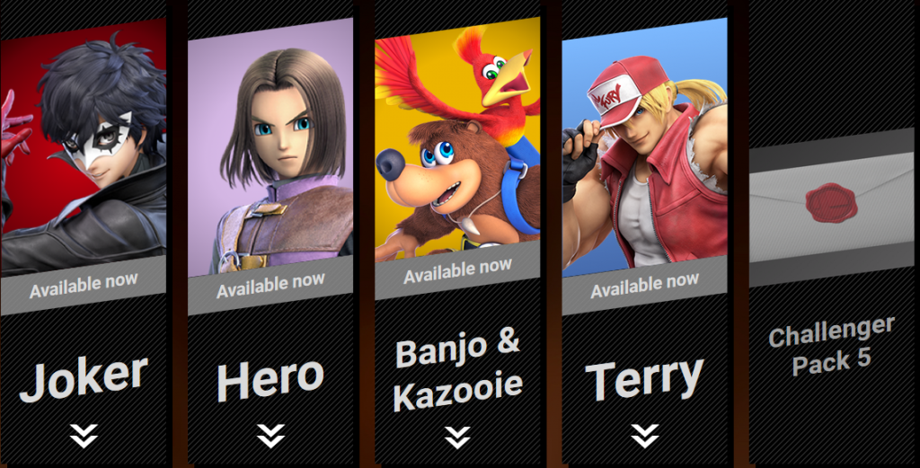 Super Smash Bros DLC fighter five template