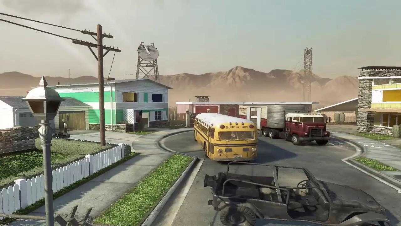 Black Ops 1's Nuketown.