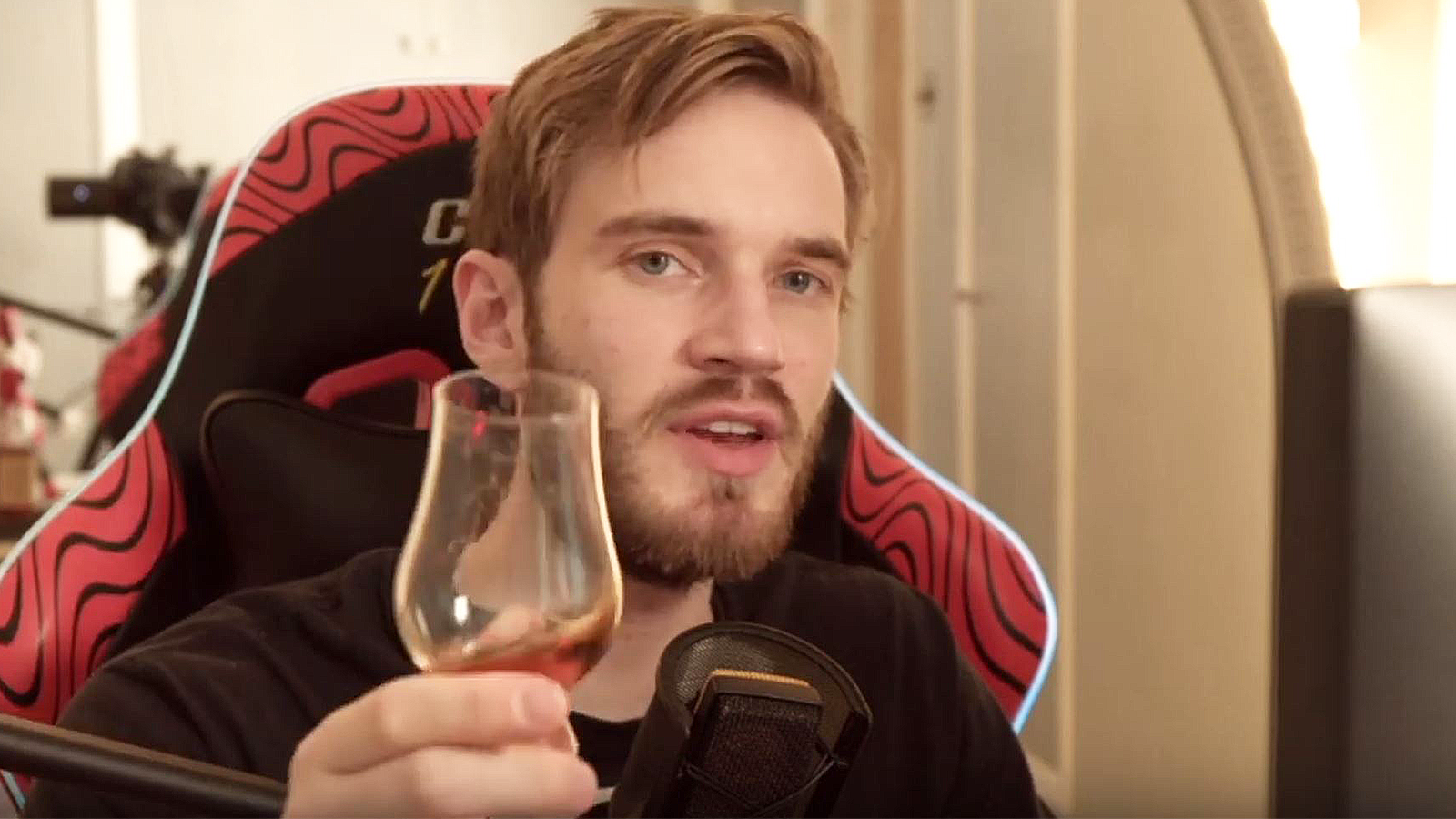 PewDiePie toasts his viewers after announcing his YouTube hiatus