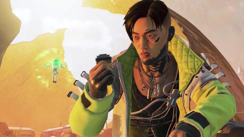 Crypto and his drone in the Season 3 trailer for Apex Legends.