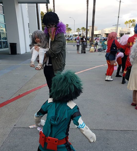 JayElitecosplay dressed as Deku to save his sister as Eri against Overhaul.