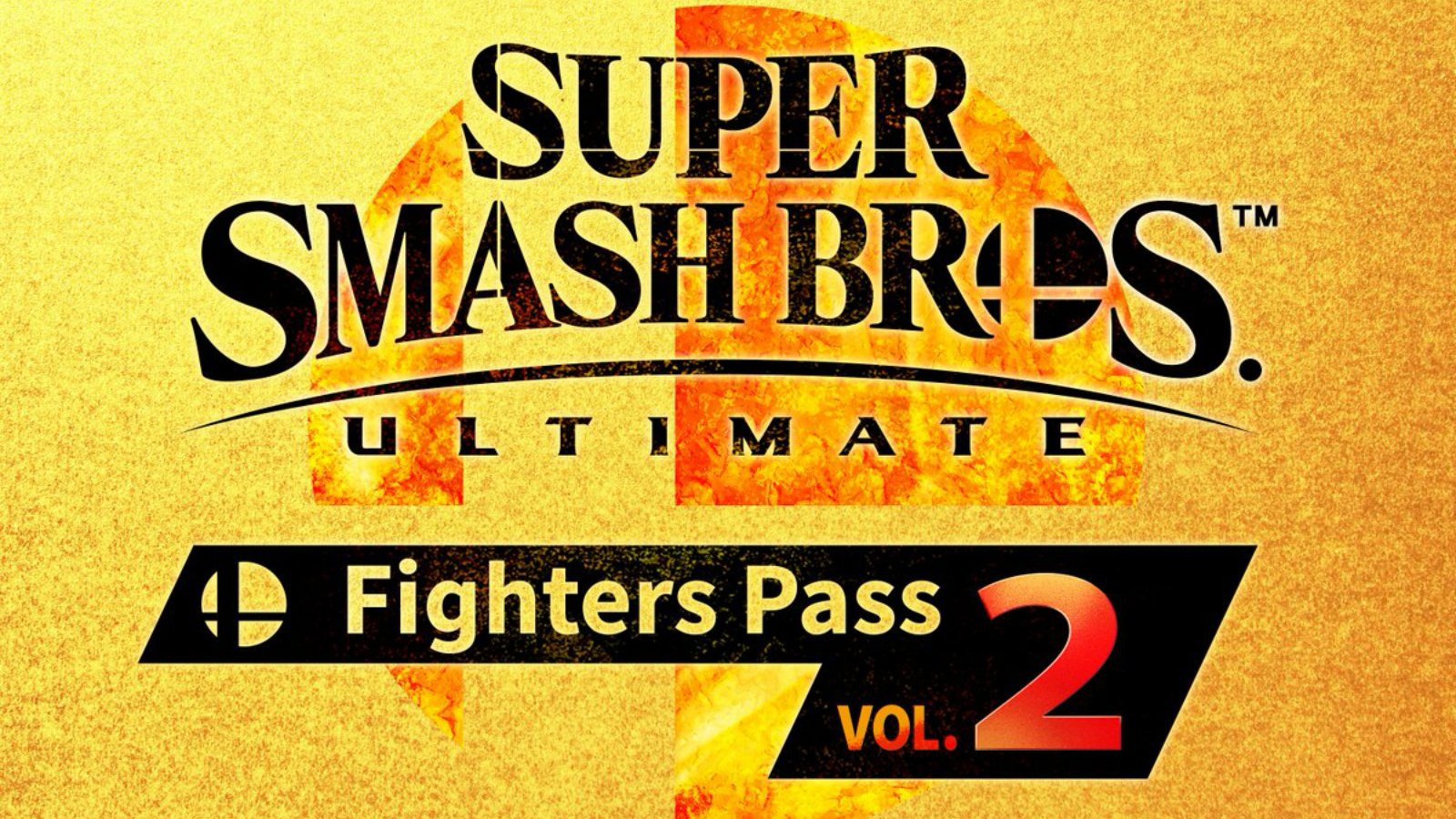 Smash Bros Ultimate Fighters Pass volume 2 logo