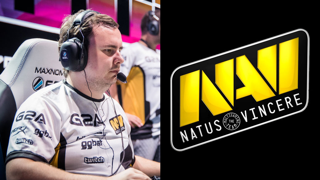 GuardiaN competing with Na'Vi at ESL CSGO event.