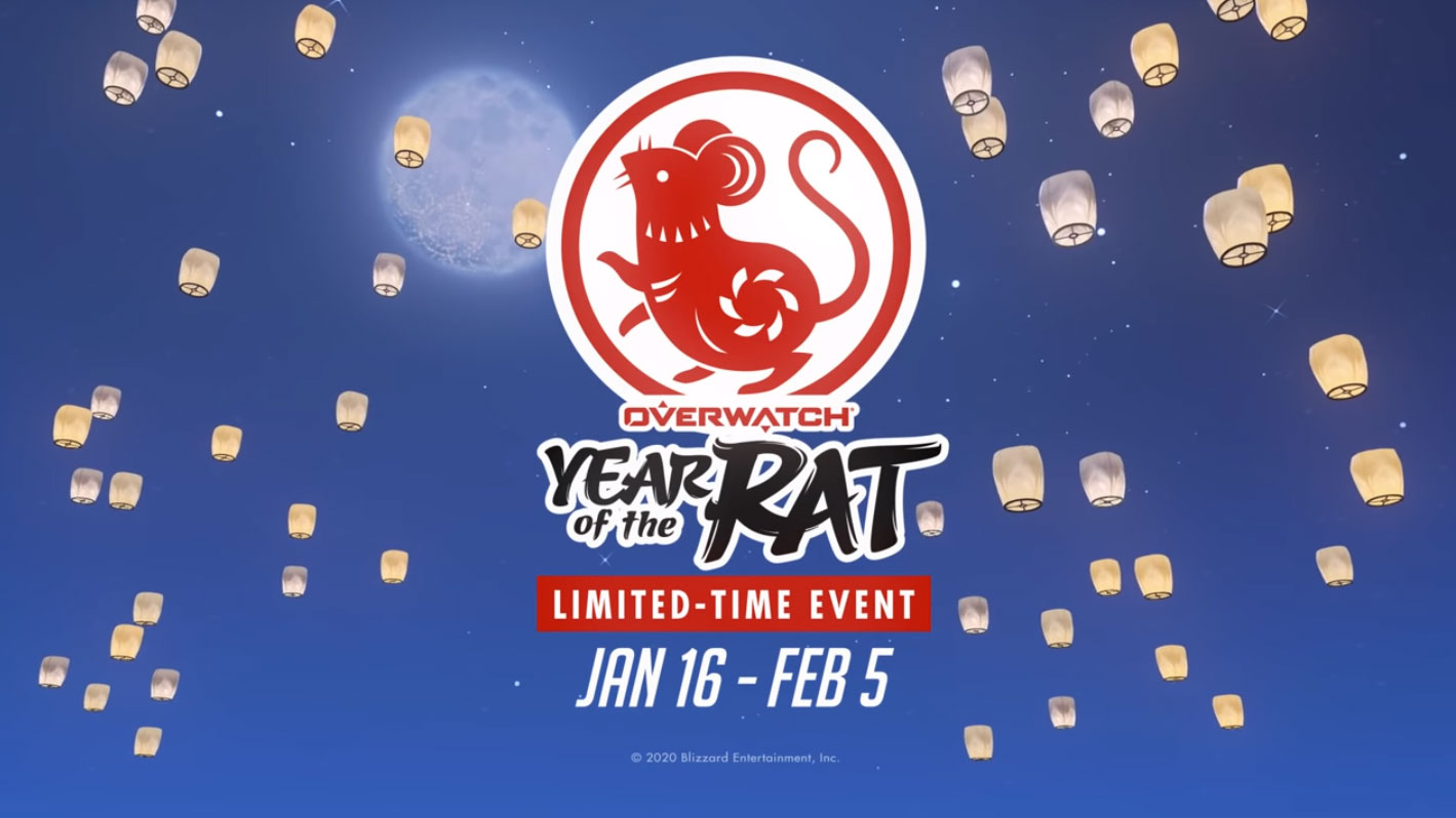 Year of the Rat Overwatch Lunar New Year event