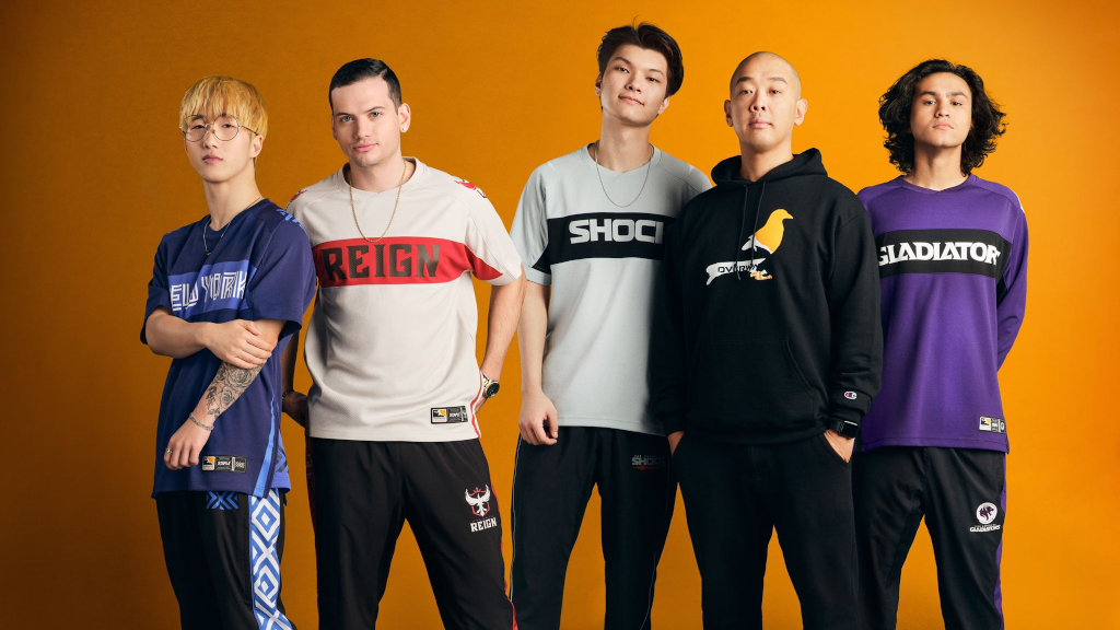 Overwatch League streetwear collection