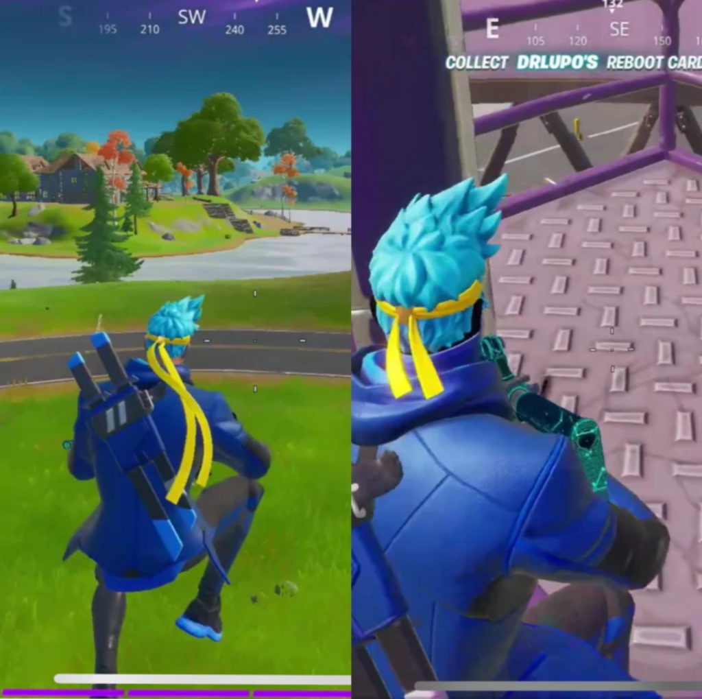 Ninja's exclusive Fortnite skin changes as players compete
