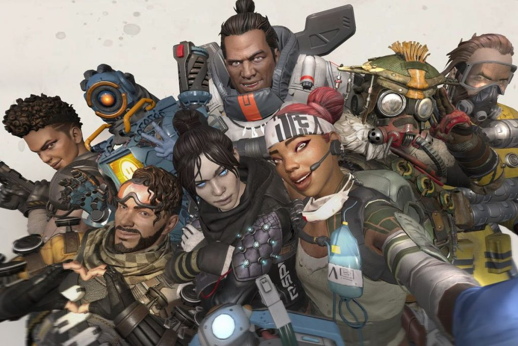 Apex Legends Group Shot