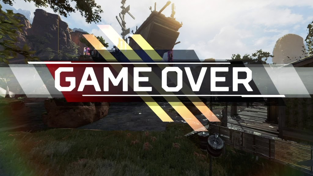 Apex Legends game over screen
