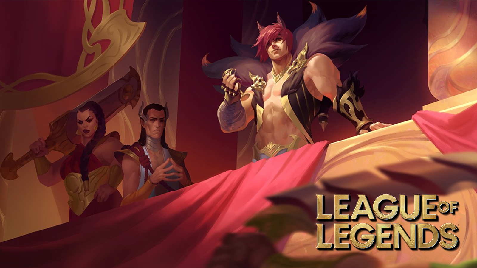 League of Legends champion Sett art