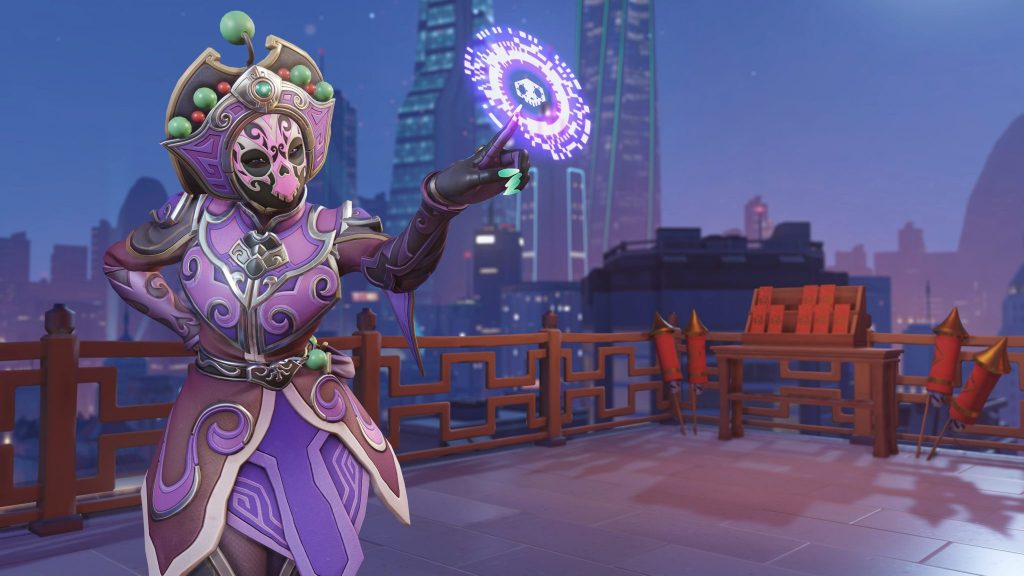 Sombra Face Changer skin in Overwatch