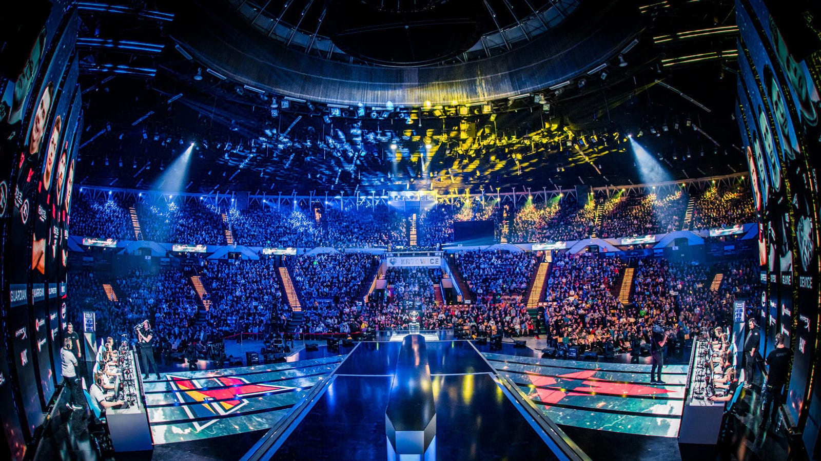 IEM Katowice crowd viewed from stage
