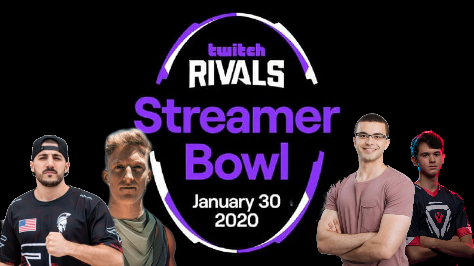 Fortnite Twitch NFL Streamer Bowl with Tfue, Nickmercs, Bugha, NickEh30
