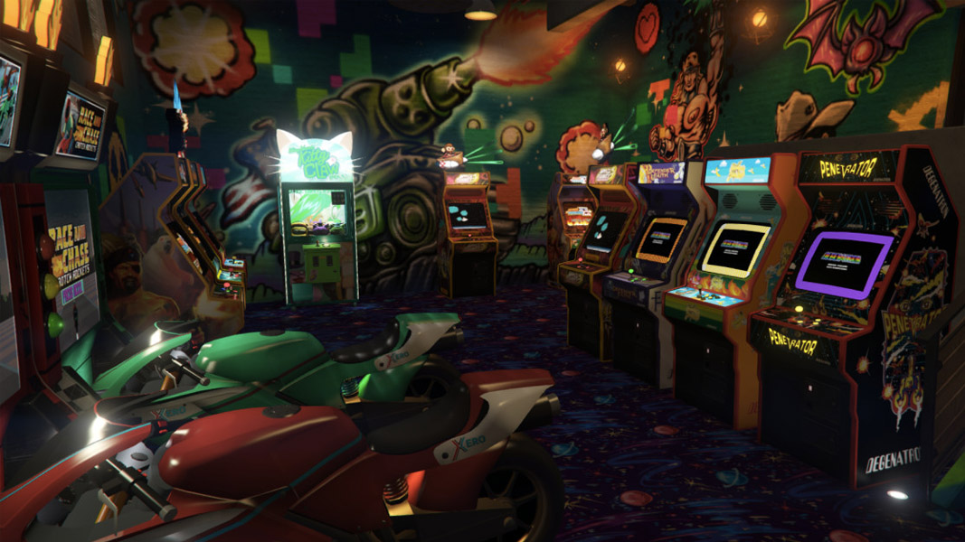 Image of an arcade in GTA Online