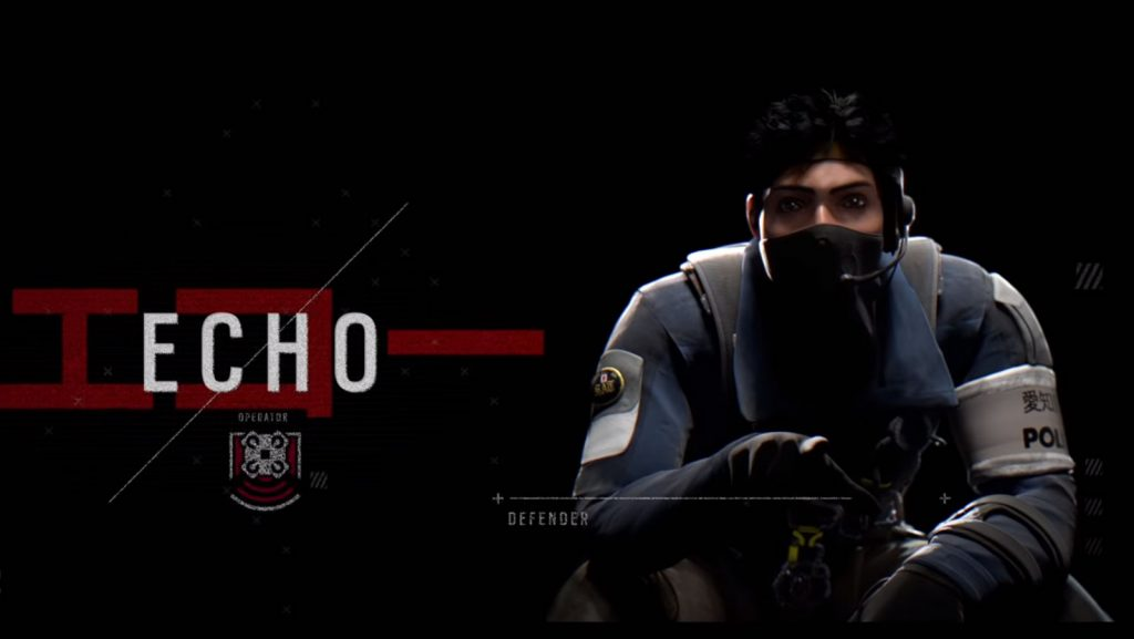 Rainbow Six Siege operator Echo.
