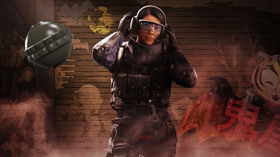 Rainbow Six Siege operator Ying and Candela explosive