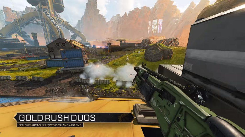 Gold Rush Duos in Apex Legends.