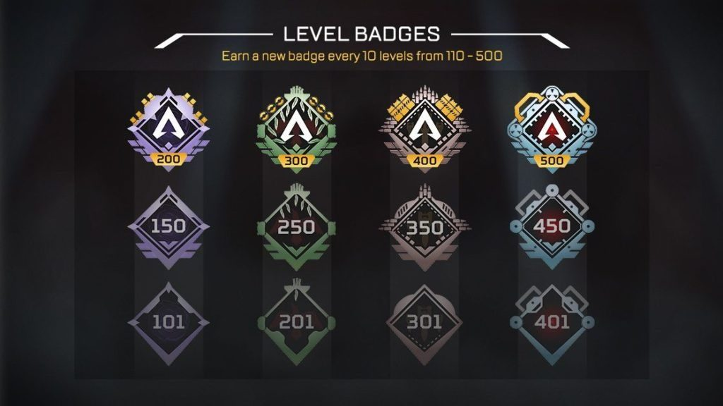 All of the new ranks added to Apex Legends