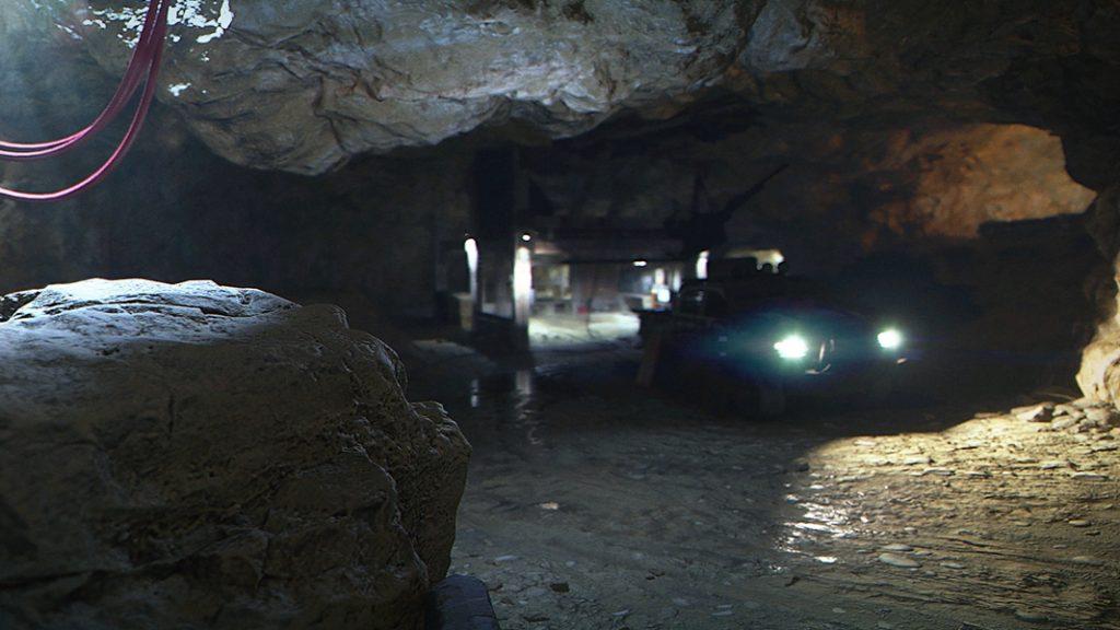 Azhir Cave in Modern Warfare with night Mode