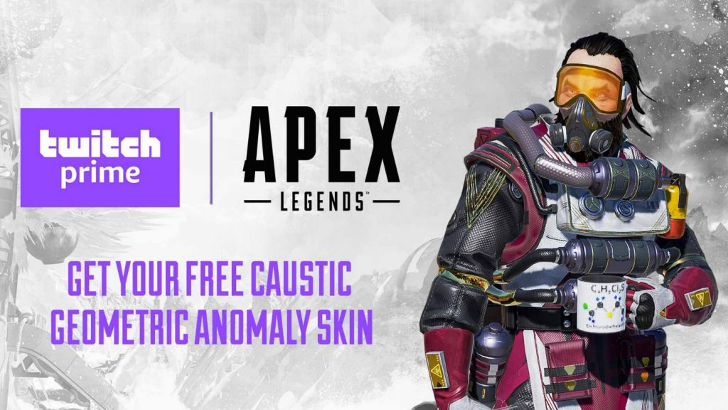 Twitch Prime Caustic skin for Apex Legends
