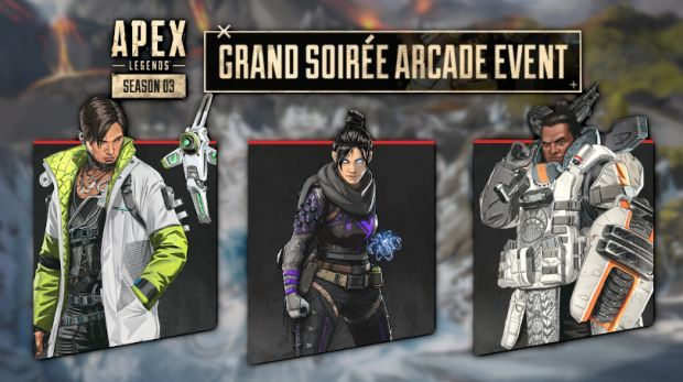 Apex Legends' Crypto, Wraith and Gibraltar.