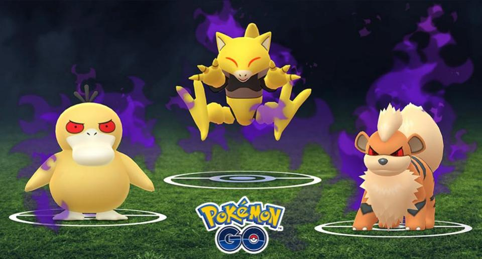 Shadow Pokemon in Pokemon GO