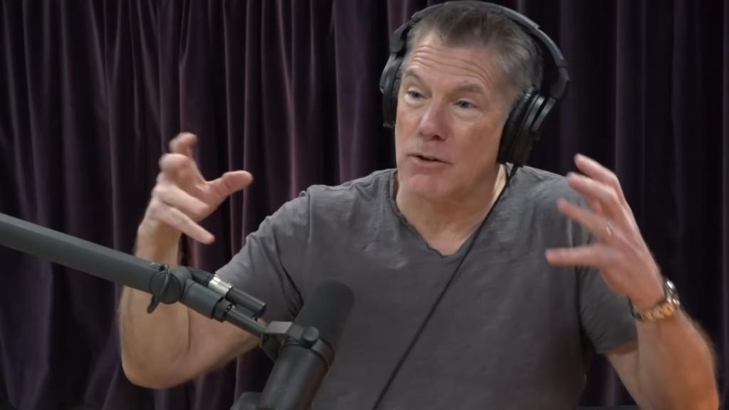 Mike Baker appearing on The Joe Rogan Experience.