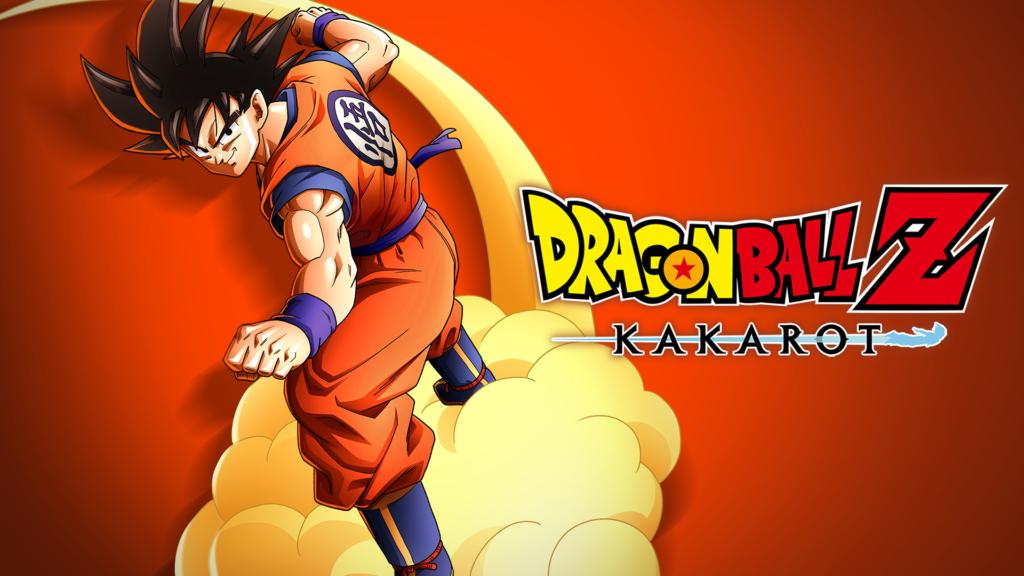 The cover screen for Dragon Ball Z Kakarot