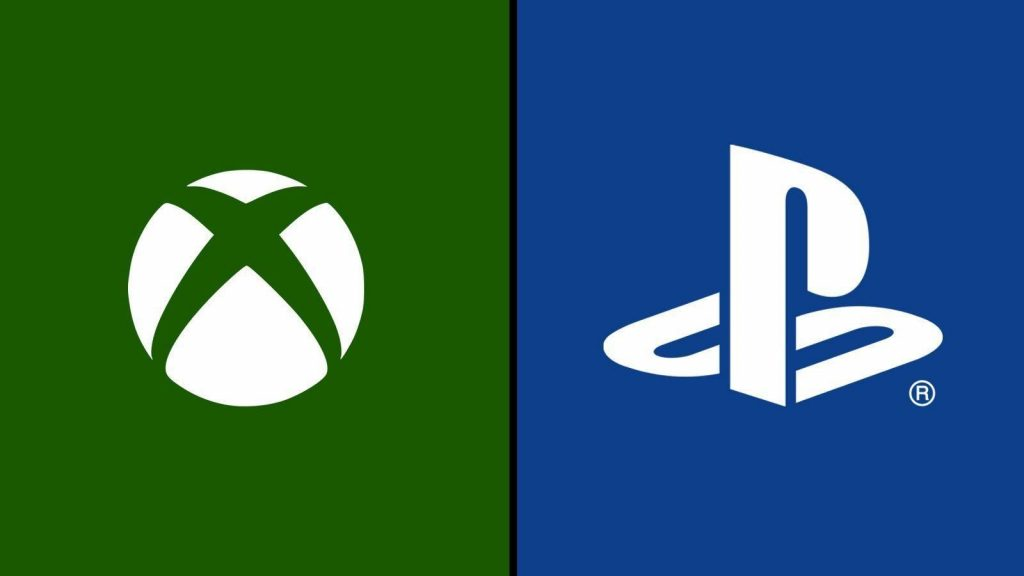The Xbox and Playstation logos