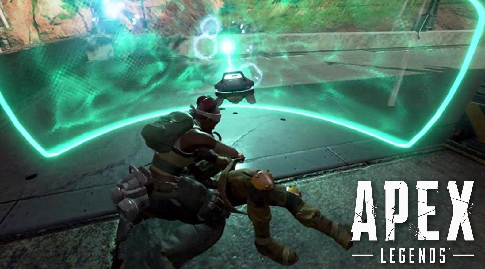 Apex Legends Lifeline revive shield