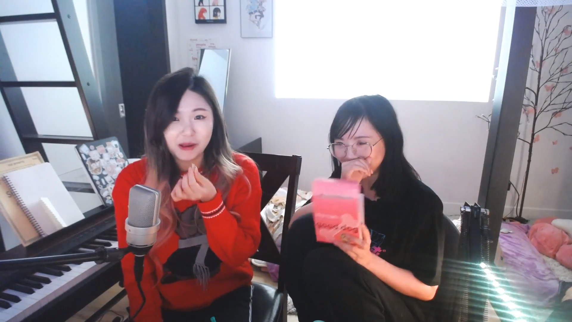 HAchubby and LilyPichu on Twitch stream