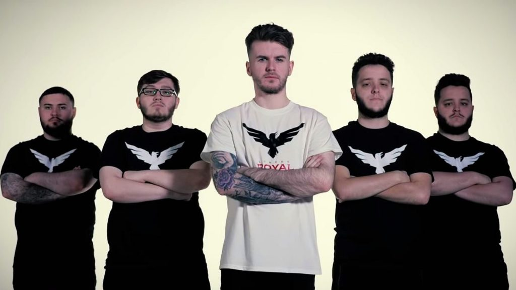 London Royal Ravens Call of Duty team