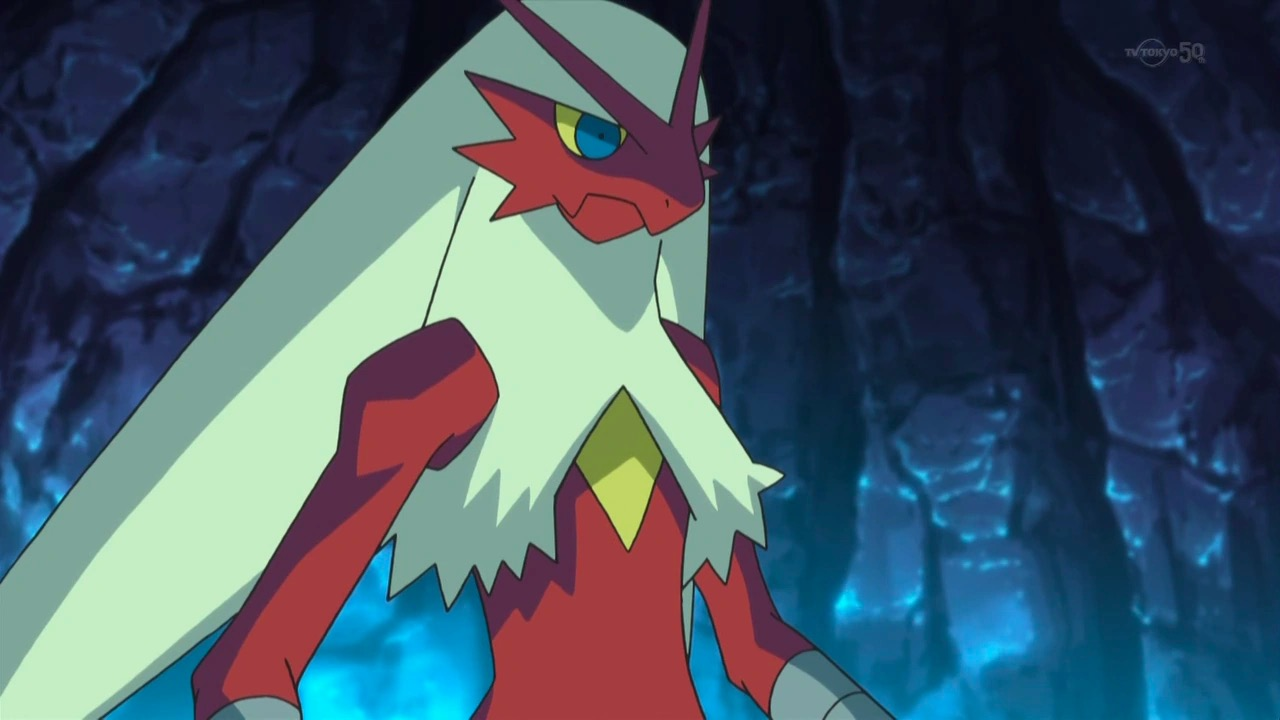 Blaziken in Pokemon's anime