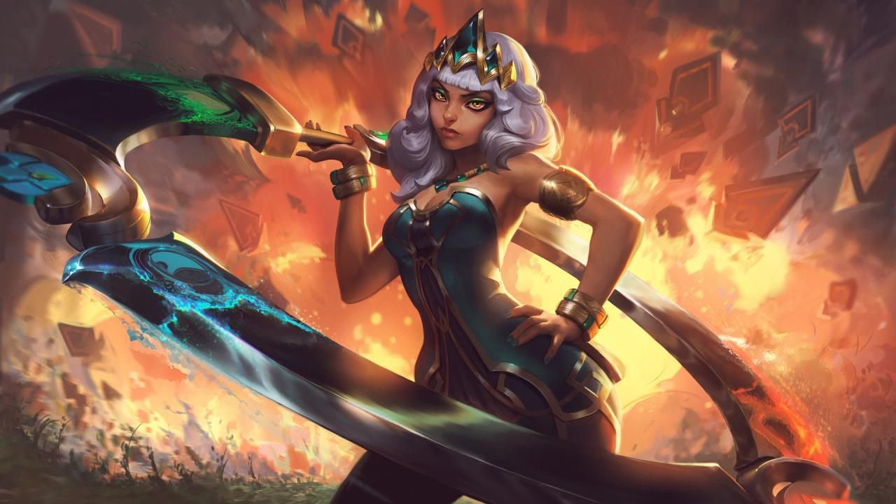 Qiyana moving to mid lane more in LoL 10.2 patch