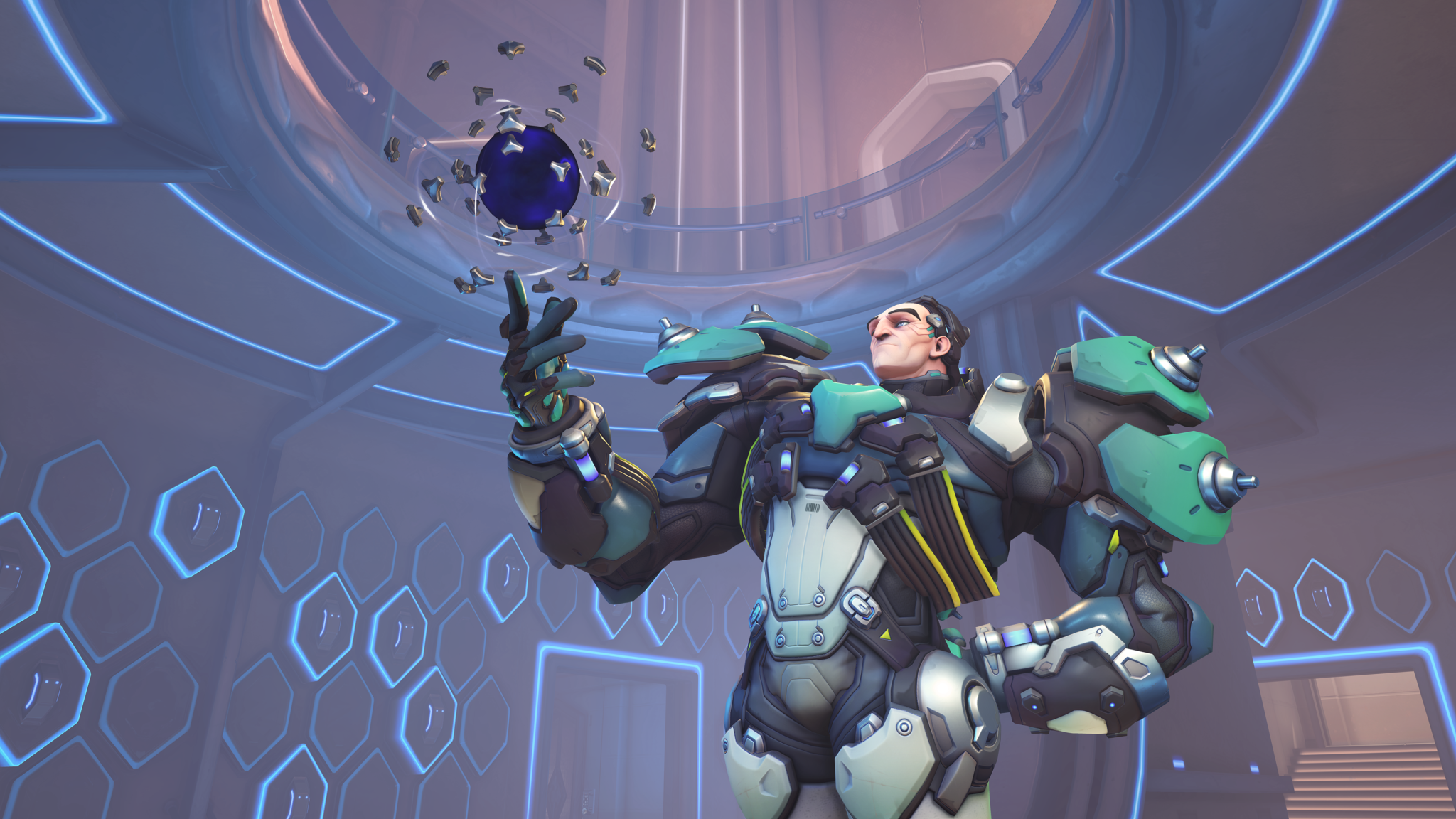 Sigma poses in Overwatch