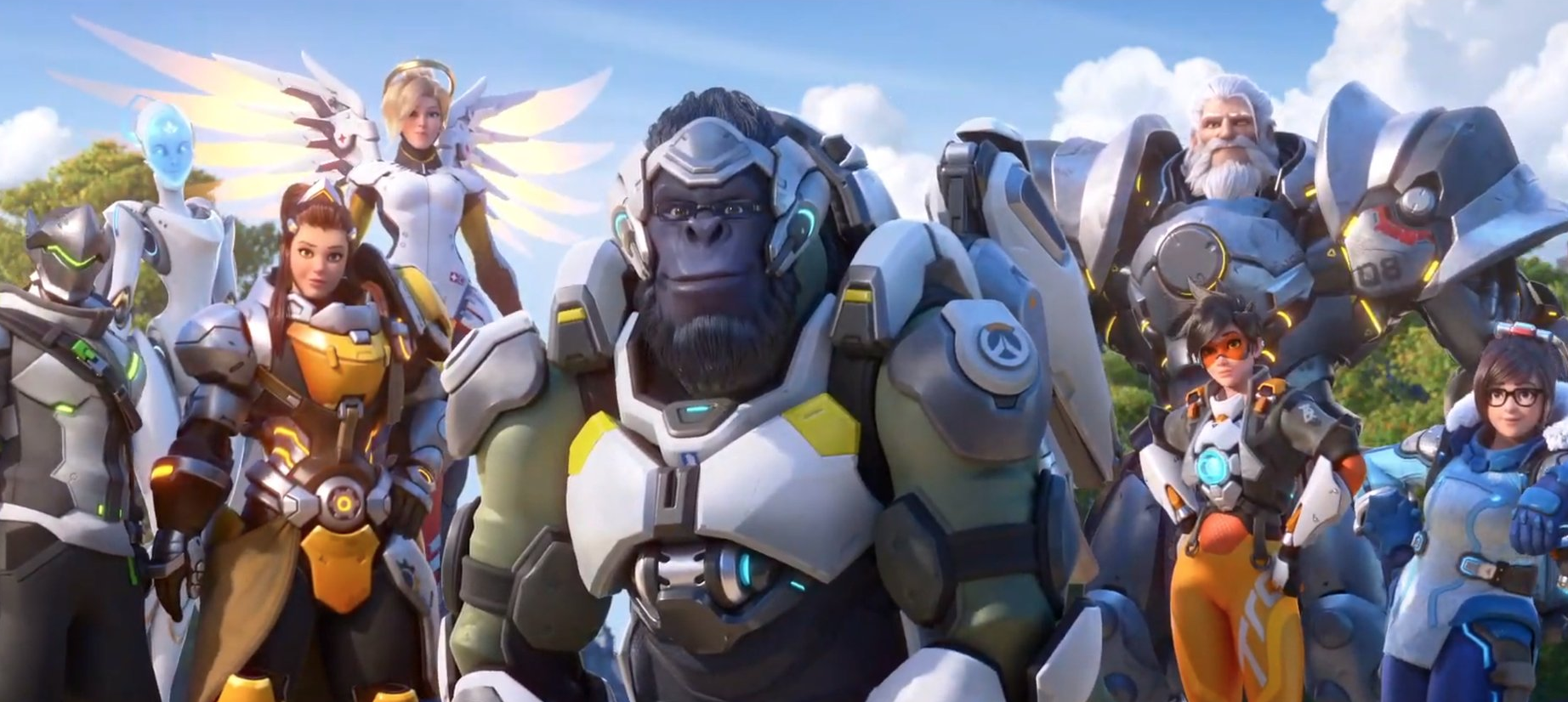 Overwatch 2 cast of characters