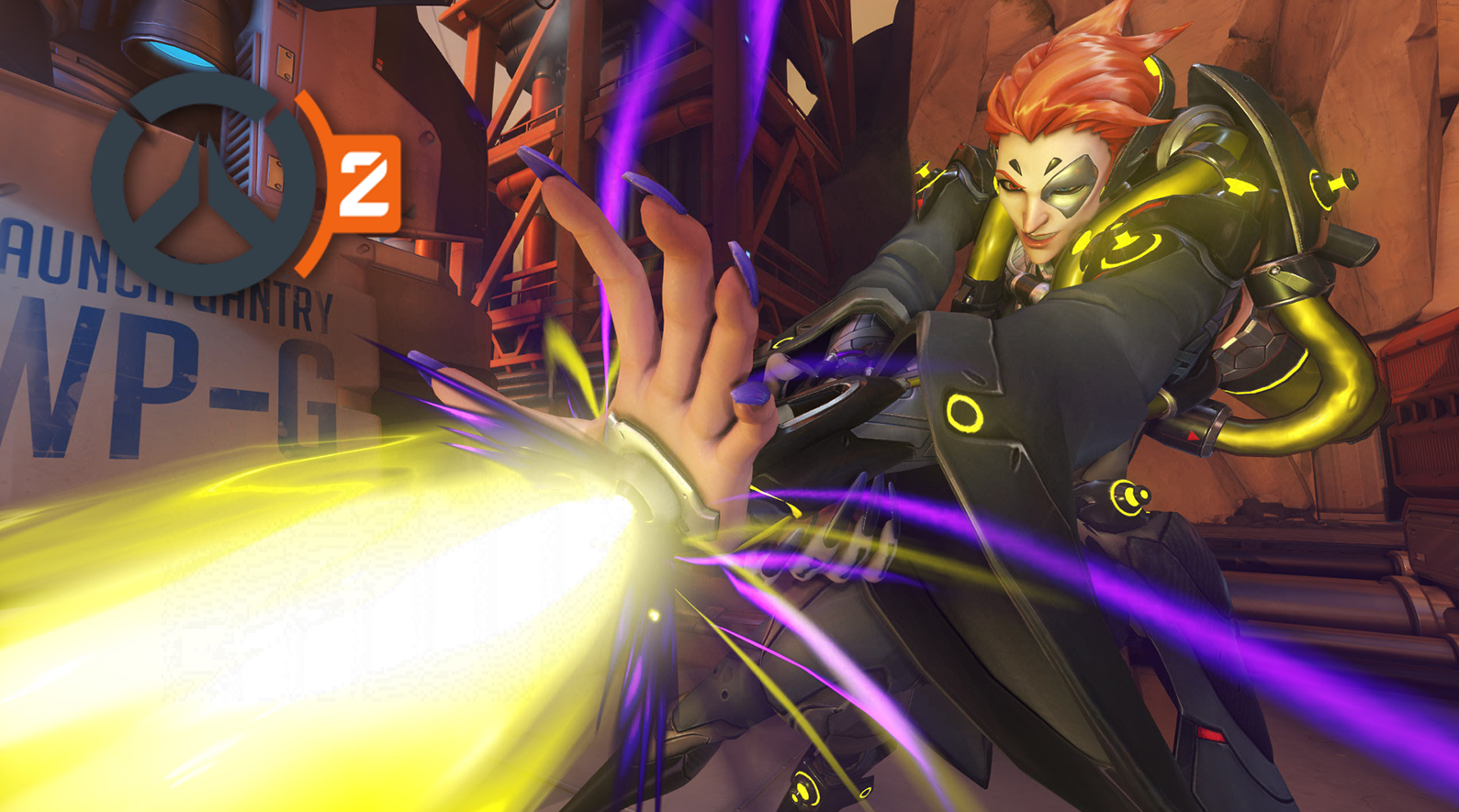 Moira Overwatch casting her Ultimate ability