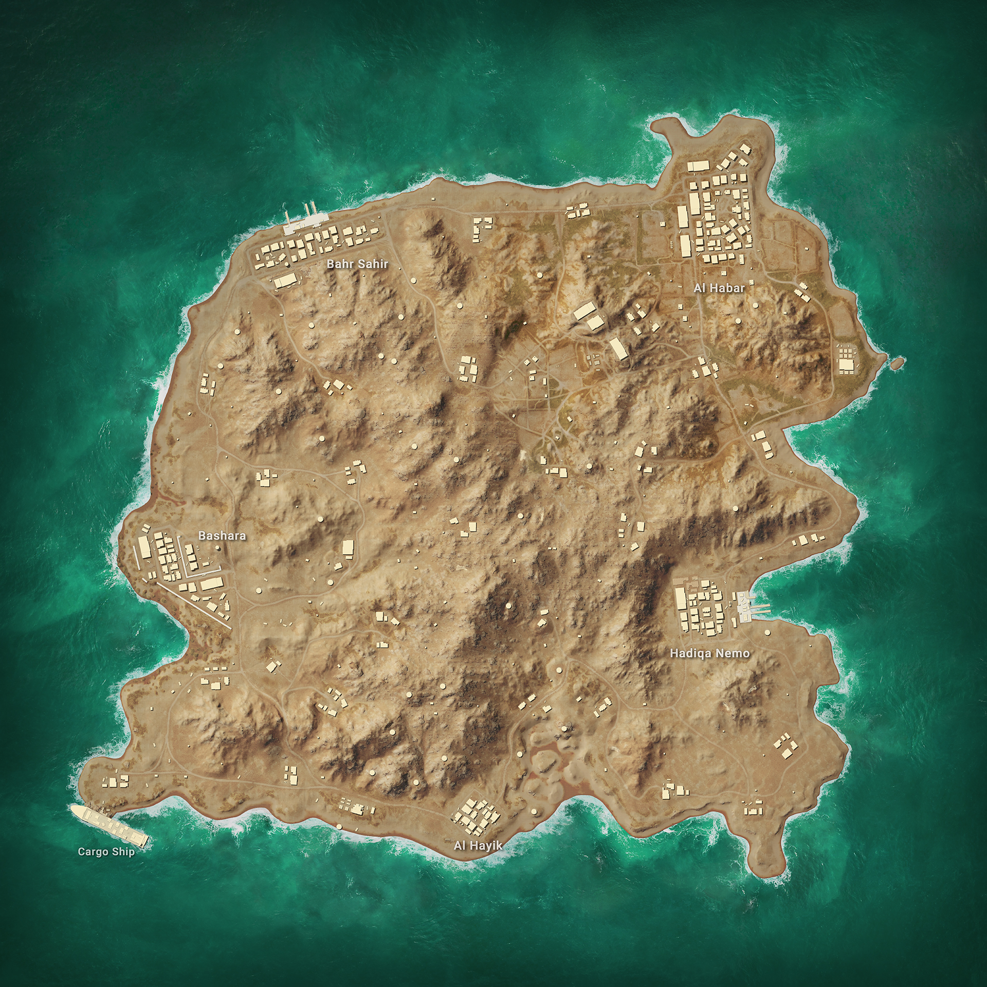 New PUBG Karakin map