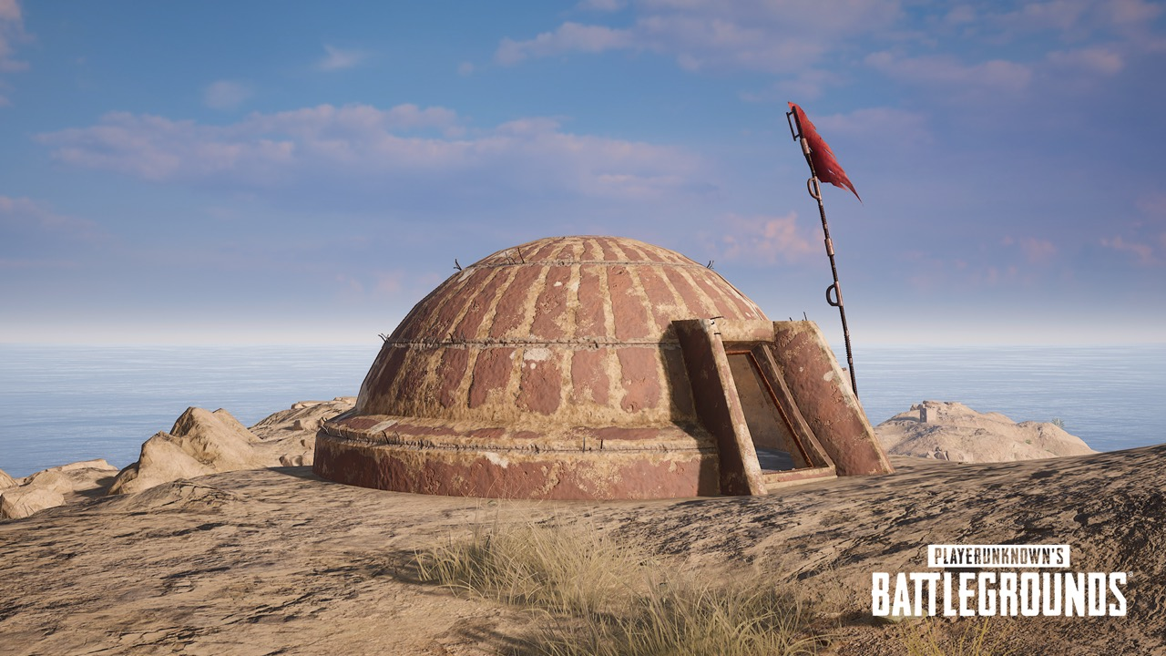 Bunker in PUBG's Karakin map