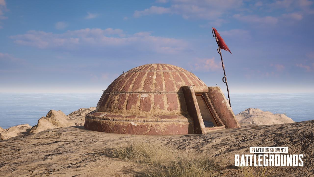 Bunker in PUBG's Karakin map