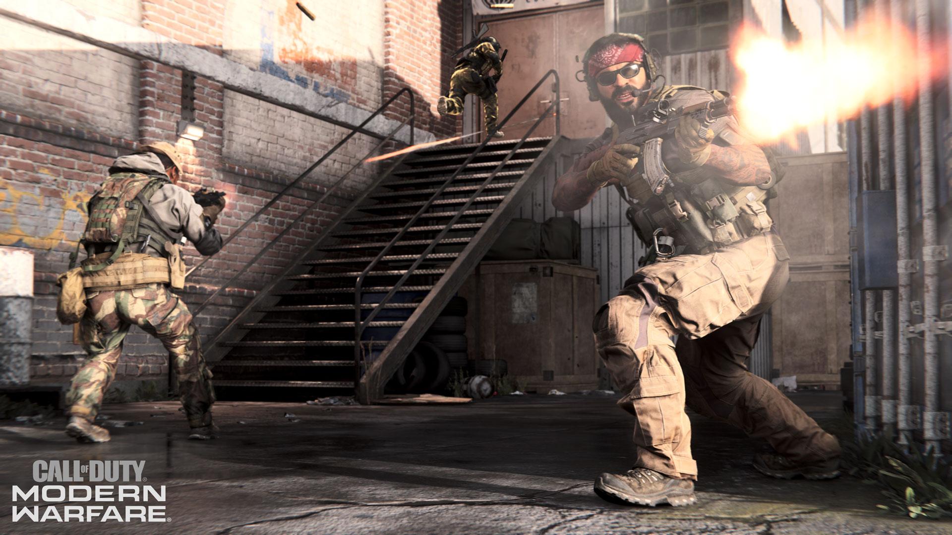 Modern Warfare's Hackney Yard.